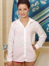 Jedda – White Dress Shirt