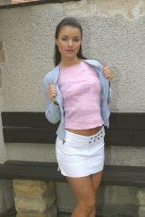 Jedda – Blue Blouse & Pink T-Shirt