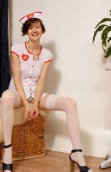 Nurse Alison – skinny redhead