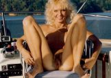 Retro Gold -Nautical adventures -slim tanned hairy mature blonde