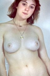 Retro Gold – Amateur – Melba – young curvy hairy brunette poses