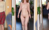 Adela – front and back naked