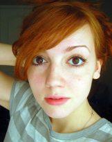 Exposed – Brighton redhead Kirsty hot photoshoot