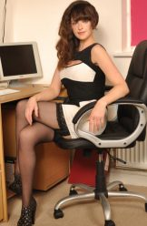 Kate Anne – black stockings