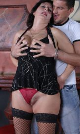 Karola – hairy old splosher shagged.