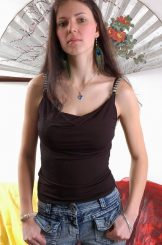 Nadja – thin babe with a lovely pair of tits