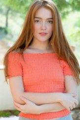 Redhead Lissa please marry me – cutest teen this summer