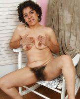 Hairy Latina Mature Majal