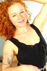 Hairy Tattooed Sexy Redhead