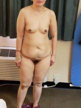 exposed old asian wife