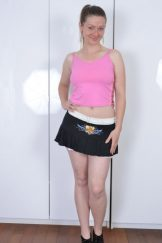 Bula / Mischelle – Polka Dot Panties :: MILF hairy upskirt
