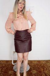Jamie Foster in her red panties