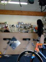 French Nadine – Hardcore – Getting ridden at the bike shop