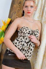 Regina | Bartscha | Jehanna – Small Black Skirt :: MILF hairy