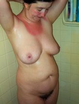 Mature Wife in the Shower
