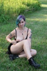 (IrishKitten Privates) Naked Park Flashing