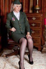 Alison Colins – Military Hairy :: MILF uniform