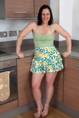 Amber Lustfull – Kitchen Hairy Upskirt