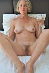 Amateur Blonde Wife Posing Naked