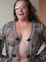 Magdelana – fat, hairy, gaping Granny