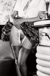 Vintage B/W girls