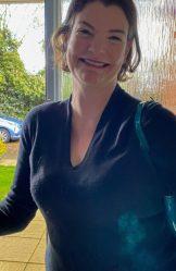 Clara Hewitt – strange looking MILF with a big hairy twat 3